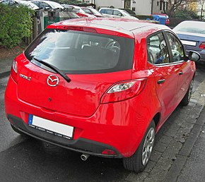 Mazda 2 II.Generation rear.jpg