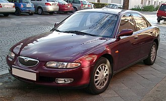Amati Cars - Image: Mazda Xedos 6 front 20071115