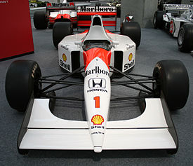 McLaren MP4-7 front view Honda Collection Hall.jpg
