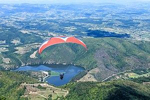 Ovčar-Kablar Gorge - Paragliding over Ovčar-Kablar Gorge.