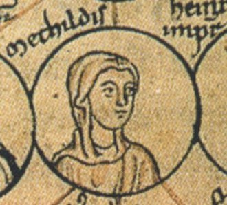 Matilda of Germany, Countess Palatine of Lotharingia - Image: Mechtila dcera Oty 2