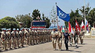 Naqoura - UN troops in Naqoura