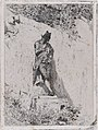 Meditation- a man standing on a step by a wall MET DP876137.jpg