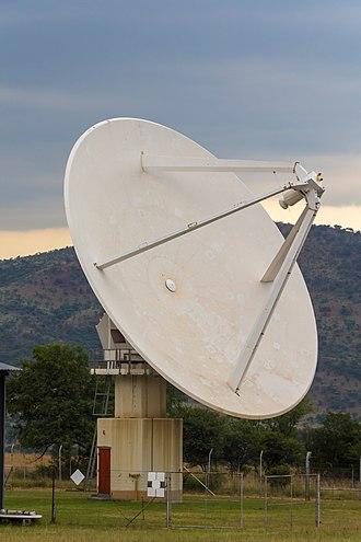Hartebeesthoek Radio Astronomy Observatory - MeerKAT prototype dish