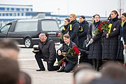 Meeting Bodies of Ukrainian Citizens from PS752 in Boryspil International Airport 25.jpg