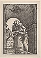 Meeting of Joachim and Anna at the Golden Gate, from The Fall and Salvation of Mankind Through the Life and Passion of Christ MET DP832954.jpg