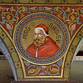 Mehrerau Collegiumskapelle Papst 04 Sixtus V a.jpg