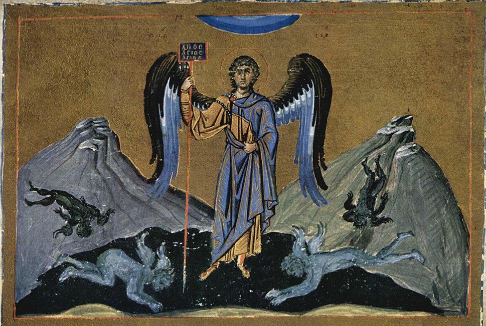 Meister der Ménologe des Basilius II. 001