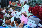 Memorial at Rostov-on-Don Airport for victims of Flydubai Flight 981 (1).jpg