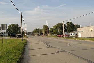 Memphis, Indiana - US 31 in Memphis, Indiana