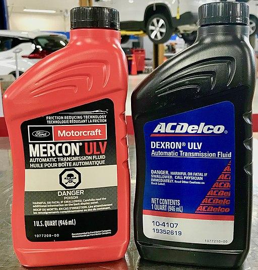 Mercon and Dexron ULV Fluids
