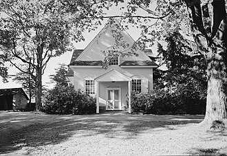 Friends meeting houses in Pennsylvania - Image: Merion Friends Meeting House, 615 Montgomery Avenue (changed from Montgomery Avenue & Meetinghouse Lane), Merion Station (Montgomery County, Pennsylvania)