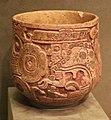 Messico, maya (chocholà), contenitore con divnità dell'oltretomba (dio L), dallo yucatan, 600-900 ca.jpg