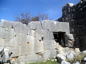 Meydan Castle - Image: Meydankale, Mersin, Turkey