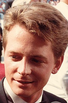 L'actor canadiense Michael J. Fox, en una imachen de 1988.