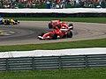 Michael Schumacher and Felipe Massa 2006 United States GP (183832156).jpg