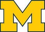 Michigan Wolverines  Women's Basketball athletic logo
