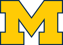 Description de l'image Michigan_Wolverines_Block_M.png.