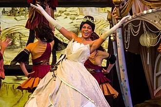Tiana in Mickey and the Magical Map at Disneyland in 2014. Mickey and the Magical Map - 1.jpg