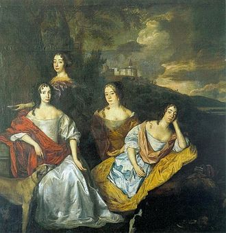 Countess Henriette Catherine of Nassau - Henriette and her sisters