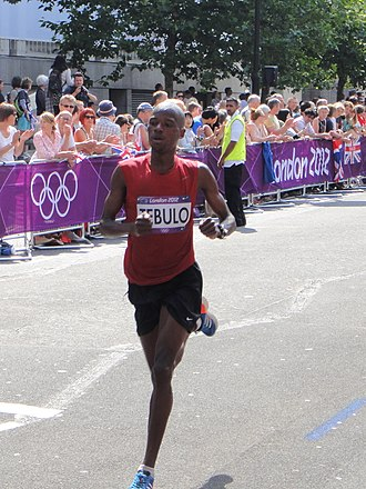 Malawi at the 2012 Summer Olympics - Mike Tebulo competing in the men's marathon