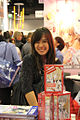 Mikiko Ponczeck at the Frankfurt Bookfair 2011.jpg