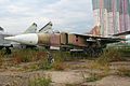 Mikoyan MiG-23S Flogger-A 25 outline (8489750265).jpg