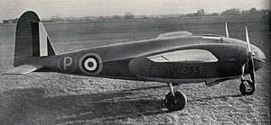 Miles Aircraft - The M.30 'X Minor' flying aerodynamics testbed