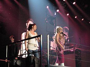 Miley Cyrus as Hannah Montana