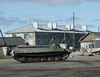 Chukotsky District - Transport in Lorino