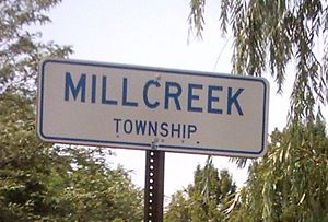 Millcreek Township, Erie County, Pennsylvania - Millcreek Township sign