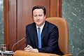 Ministru prezidenta Valda Dombrovska tikšanās ar Apvienotās Karalistes Ministru prezidentu Deividu Kameronu (8514463969).jpg