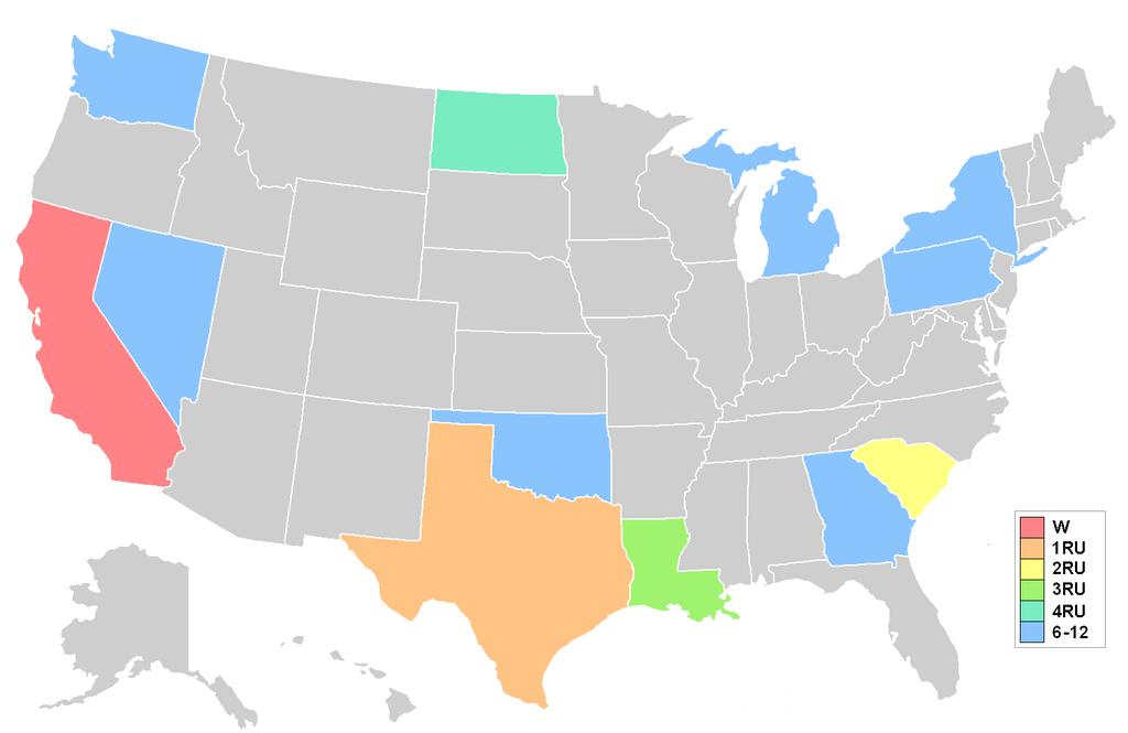 Gatlin South Carolina Map.File Miss Usa 1983 Results Map Png Wikimedia Commons