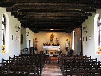 Mission San Francisco de la Espada - Image: Mission Espada Chapel Interior