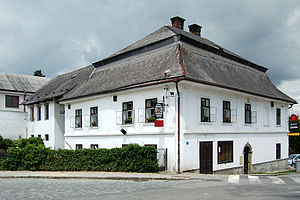 Antonín Brus z Mohelnice - Brus' Pub commemorates personality of Antonín Brus in his place of birth.