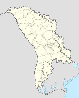 Voir la carte administrative de Moldavie