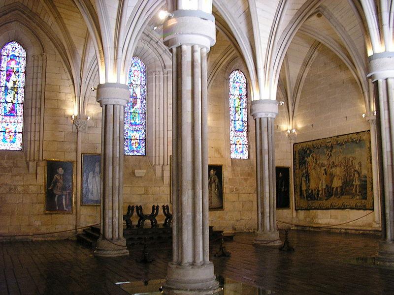 Monasterio de Sta. Maria la Real de Huelgas - Sala Capitular.jpg