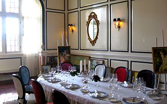 Dalat Palace Hotel - Private dining room
