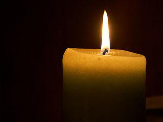 Wax - Wax candle.