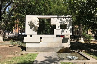 Sayat Nova monument