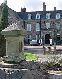 Monument at Rothley Court Hotel - geograph.org.uk - 1639708.jpg