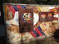 Monument de la vuitena trobada de penyes barcelonistes (1984) i placa 50 anys Penya Blaugrana d'Igualada (1959-2009).JPG