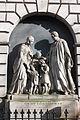 Monument to Rev Dickson, St Cuthberts Churchyard, Edinburgh by A H Ritchie.jpg