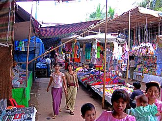Monywa - Market