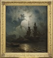 Moonlight on the Coast of Norway (Knud Baade) - Nationalmuseum - 18257.tif