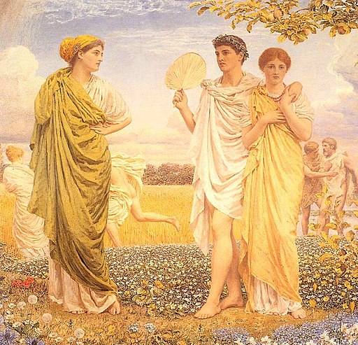Moore Albert Joseph The Loves of the Winds and the Seasons