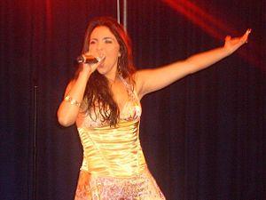 Morena (Maltese singer) - Morena at Scala nightclub in London
