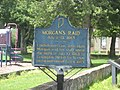 Morgan's Raid historical marker in Lexington.jpg