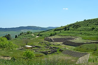 Morgantina - The Greek theater, the Sanctuary of Demeter and Persephone and the ekklesiasteron
