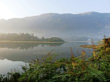 Morning view of Malankara Dam reservoir from Kudayathoor 2.jpg